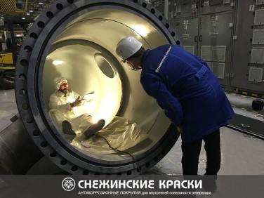 Антикоррозионное покрытие ЛКМ для внутренней защиты резервуаров